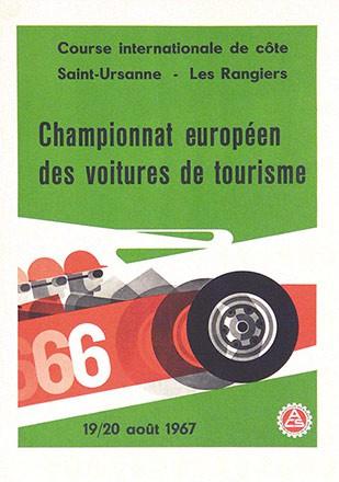 Handschin Hans - Championnat européen des voitures de tourisme