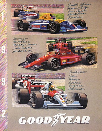 Anonym - Goodyear - Formel 1