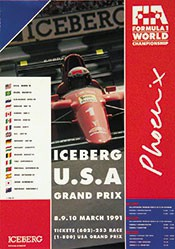 Anonym - Iceberg - USA Grand Prix