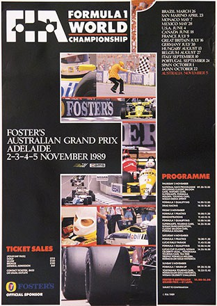 Carter Wong - Australian Grand Prix Adelaide