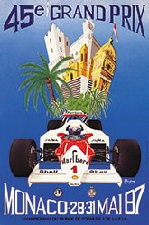 Borgheresi Alain - Grand Prix de Monaco