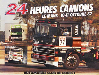 Anonym - 24 heures le Mans - Camions